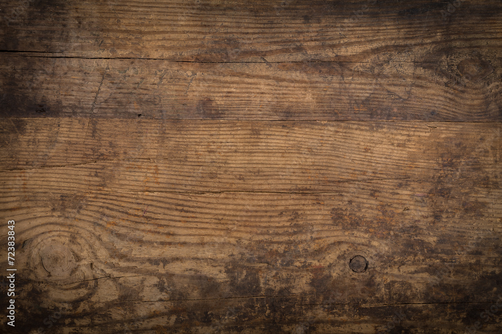 Fototapety, obrazy: Brown wood texture. Abstract background
