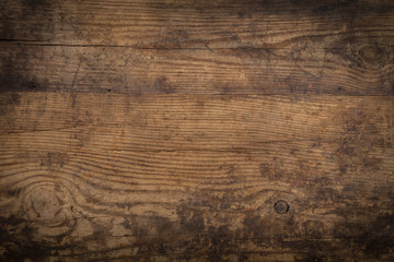 Fototapeta Do steakhouse Brown wood texture. Abstract background