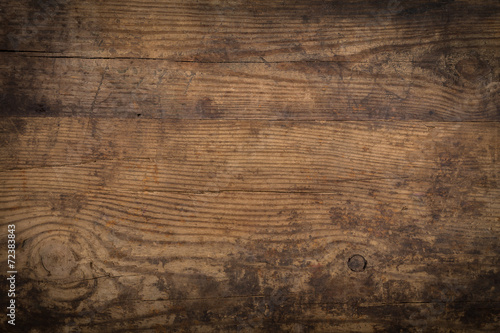 Deurstickers Retro Brown wood texture. Abstract background