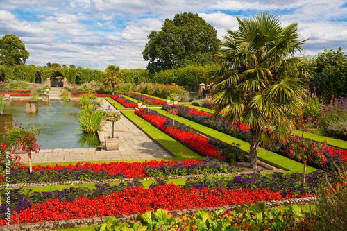 Kensington palace and gardens Poster