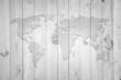 Landkarte *** Weltkarte Holzwand