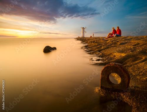 wypoczynek nad morzem,Morze Bałtyckie,Świnoujście,Polska