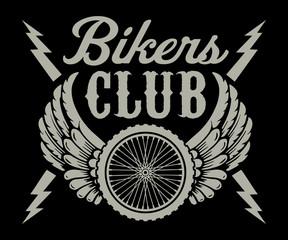 Fototapeta Do pokoju chłopca Bikers Club