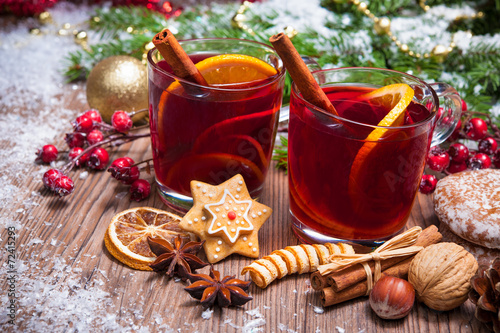Foto op Canvas Kerstmis Mulled wine