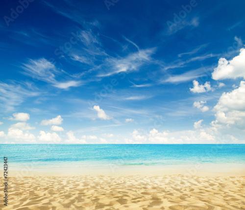 tropical beach - 72423447
