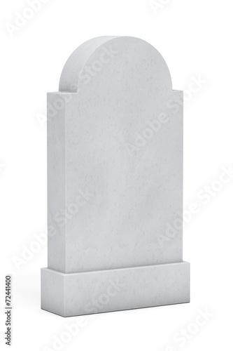 Valokuvatapetti Blank Memorial Gravestone