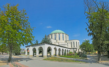 Mohacs - The Air Battle Memorial Church, Hungary
