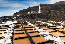 Salinas And Lighthouse Of Fuencaliente, La Palma, Canary Islands