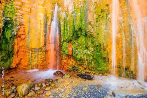 Cascade of Colors, Caldera de Taburiente, la Palma (Spain)