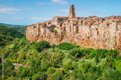 Fototapety, obrazy: Old town Pitigliano Tuscany Italy