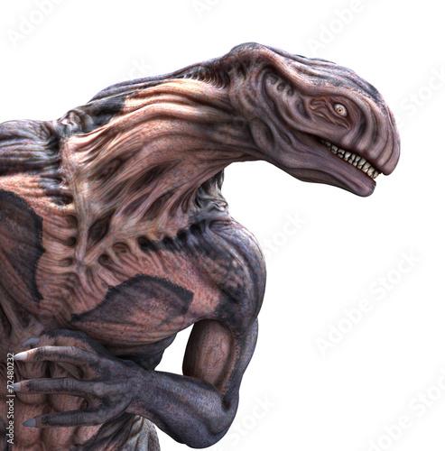 Photo  Strange Alien Portrait