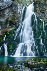Obraz na Szklewaterfall in Golling - Salzburg - Austria