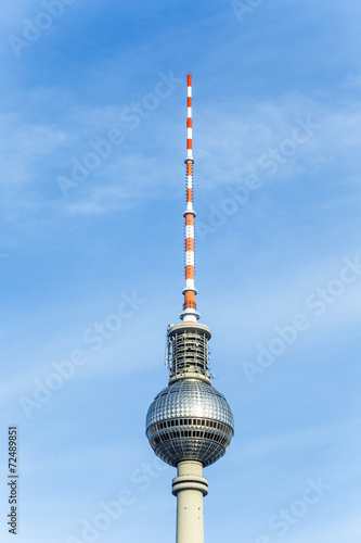 Fotografie, Obraz  The Fernsehturm (TV Tower) in Berlin, Germany