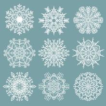 Openwork Snowflakes