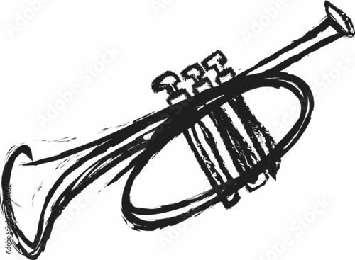 Fotografia doodle trumpet