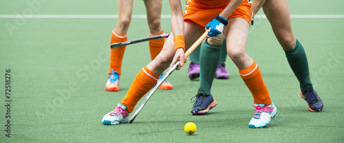Photo field hockey midfield challenge