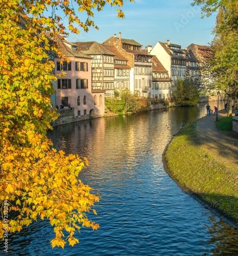 Papiers peints Ville sur l eau La Petite France à Strasbourg