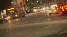 Hollywood Traffic Time-lapse