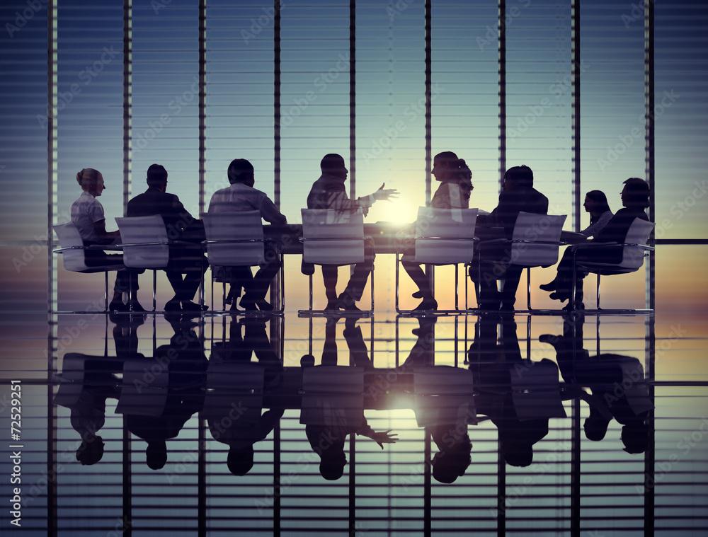 Fototapeta Business Meeting Sun Professional Strategy