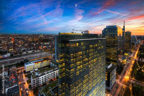 Spoed Foto op Canvas Brussel Brussels - Bruxelles - Zenith Building