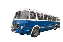 Old Bus   Clipping Path