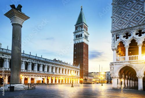 Obraz Plac Świętego Marka Wenecja - fototapety do salonu