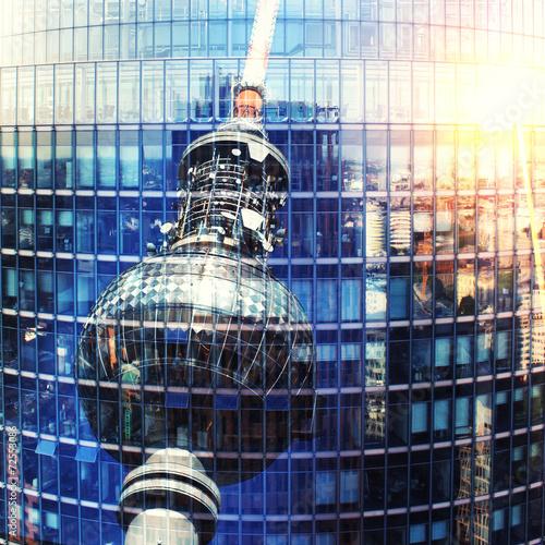 Fotografie, Obraz  Fernsehturm Berlin
