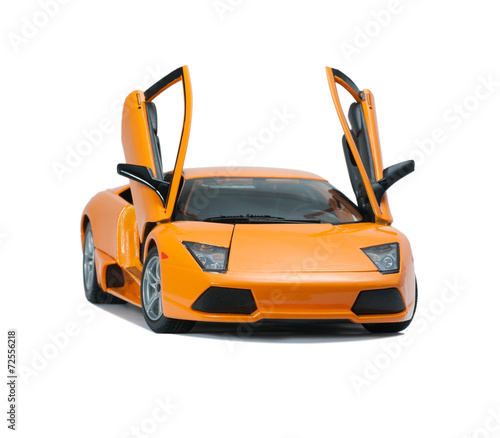 Collectible toy model Lamborghini front view Wallpaper Mural