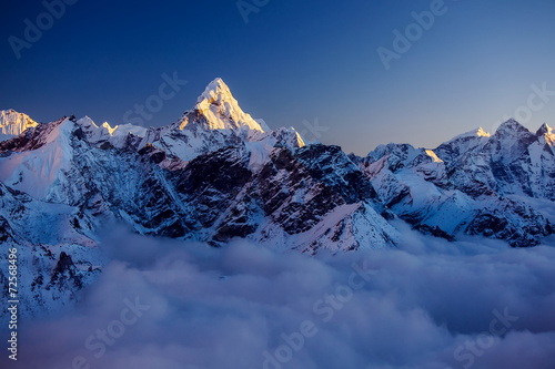 Foto auf Acrylglas Bestsellers Beautiful landscape of Himalayas mountains