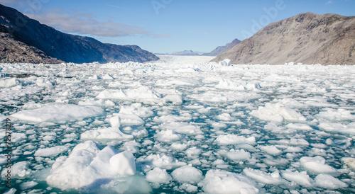 Poster Glaciers iceberg in Greenland