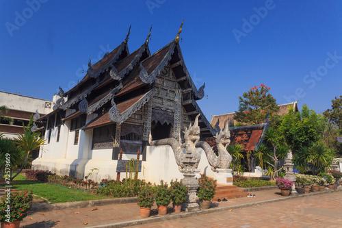 In de dag Bedehuis Thai temple
