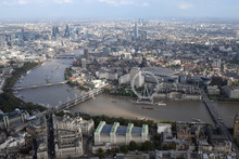 London City Skyline View From ...