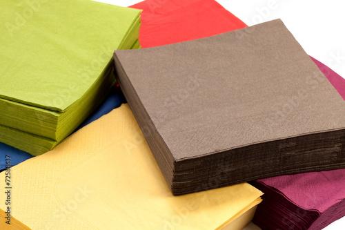 Fotografie, Obraz  Colorful napkins