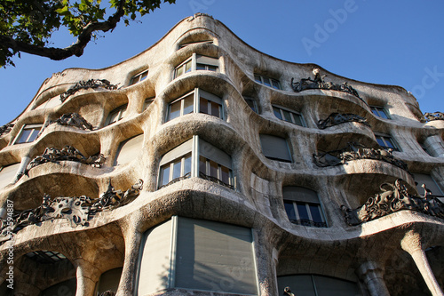 Papiers peints Barcelona Casa mila in Barselona,Spain