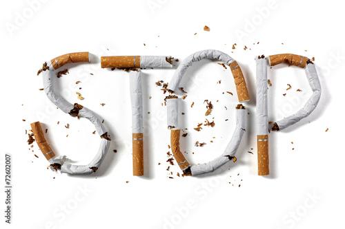Fotomural Stop smoking