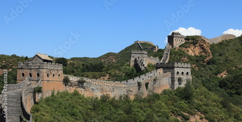Tuinposter China Die Grosse Mauer in China