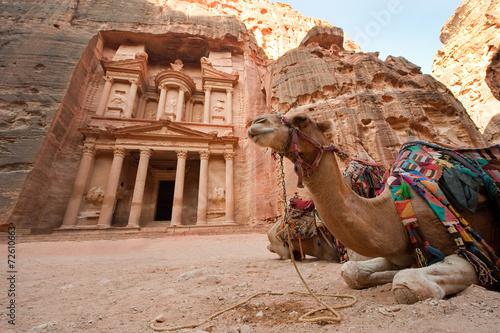 fototapeta na szkło Petra w Jordanii