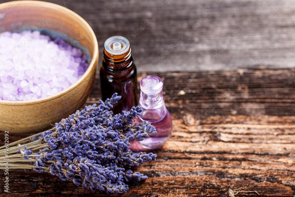 Fototapety, obrazy: Still life with lavender