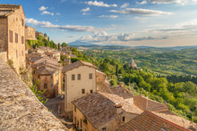 Landscape Of The Tuscany Seen ...