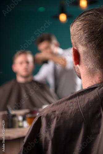 Fotografie, Obraz  professional  hairdressing salon