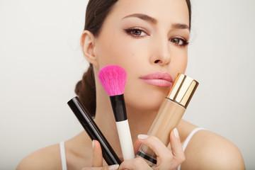 Fototapetabeauty and makeup