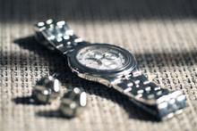 Silver Watch Aluminium