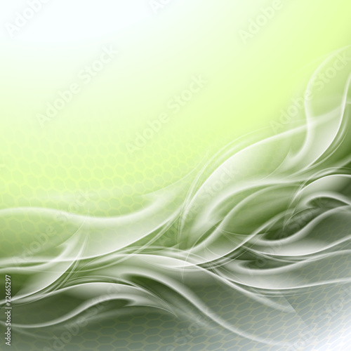 Naklejka dekoracyjna Abstract background green