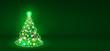 canvas print picture - Weihnachtsbaum, Tannenbaum, Christbaum, abstrakt, grün, tree