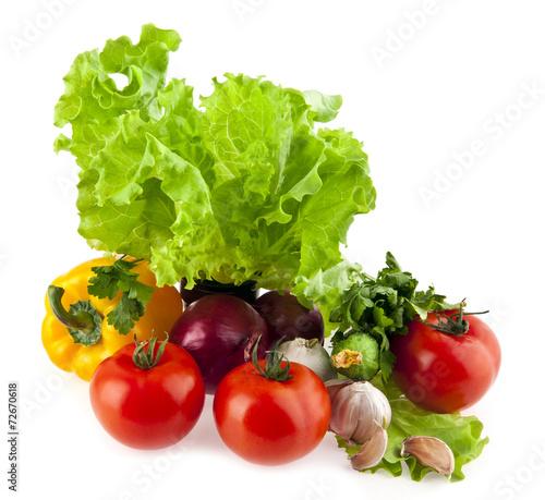 Poster Légumes frais vegetables