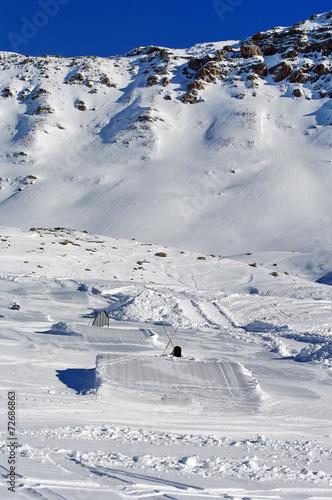 Fotografie, Obraz  snowpark