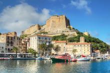 The Port De Plaisance Of Bonifacio, Corsica, France