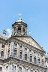 Fototapeta na wymiar Royal Palace in Amsterdam, Netherlands