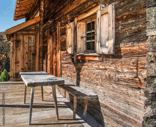 Fotografija Rustikale Alphütte bei Medergen