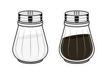 Salt-pot And Pepper-pot